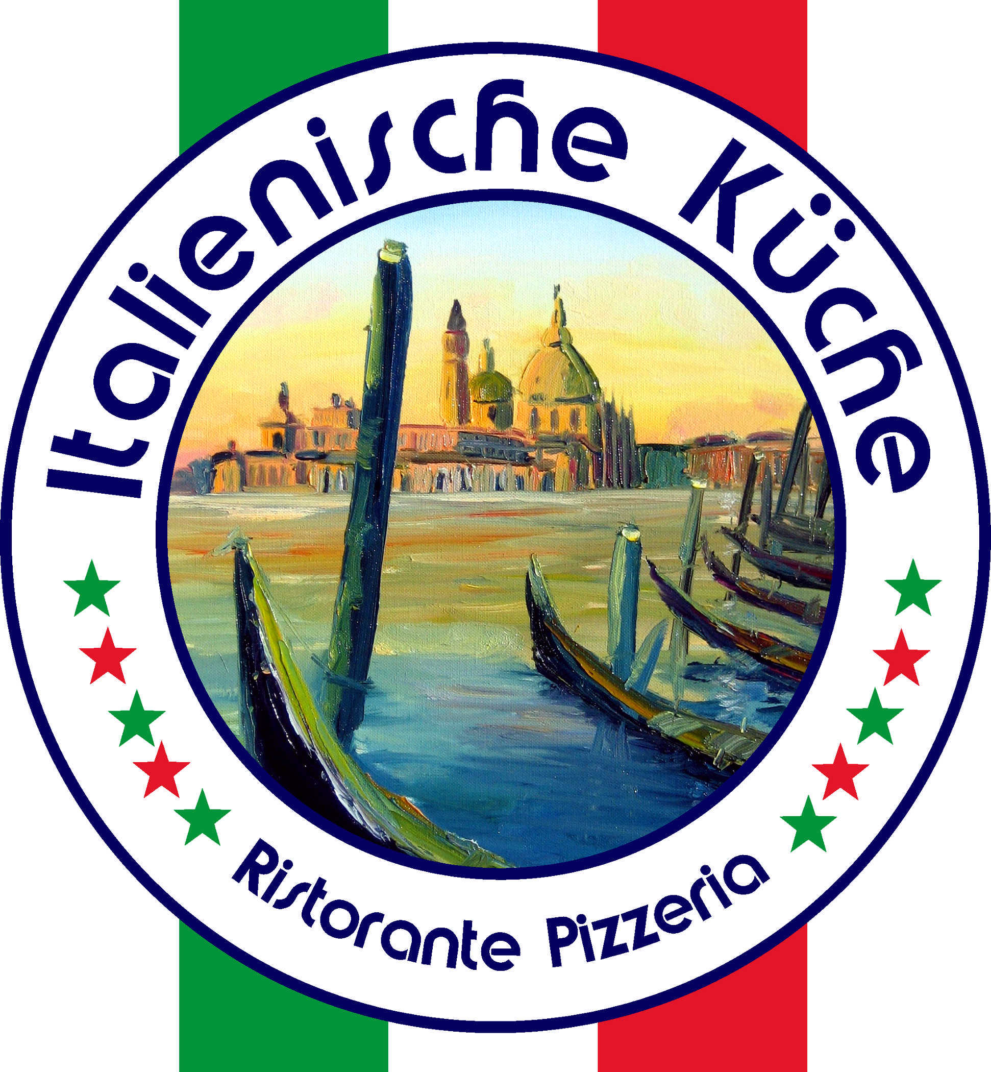 Logo Italienische Küche Ristorante Pizzeria Venezia Painting Van ...