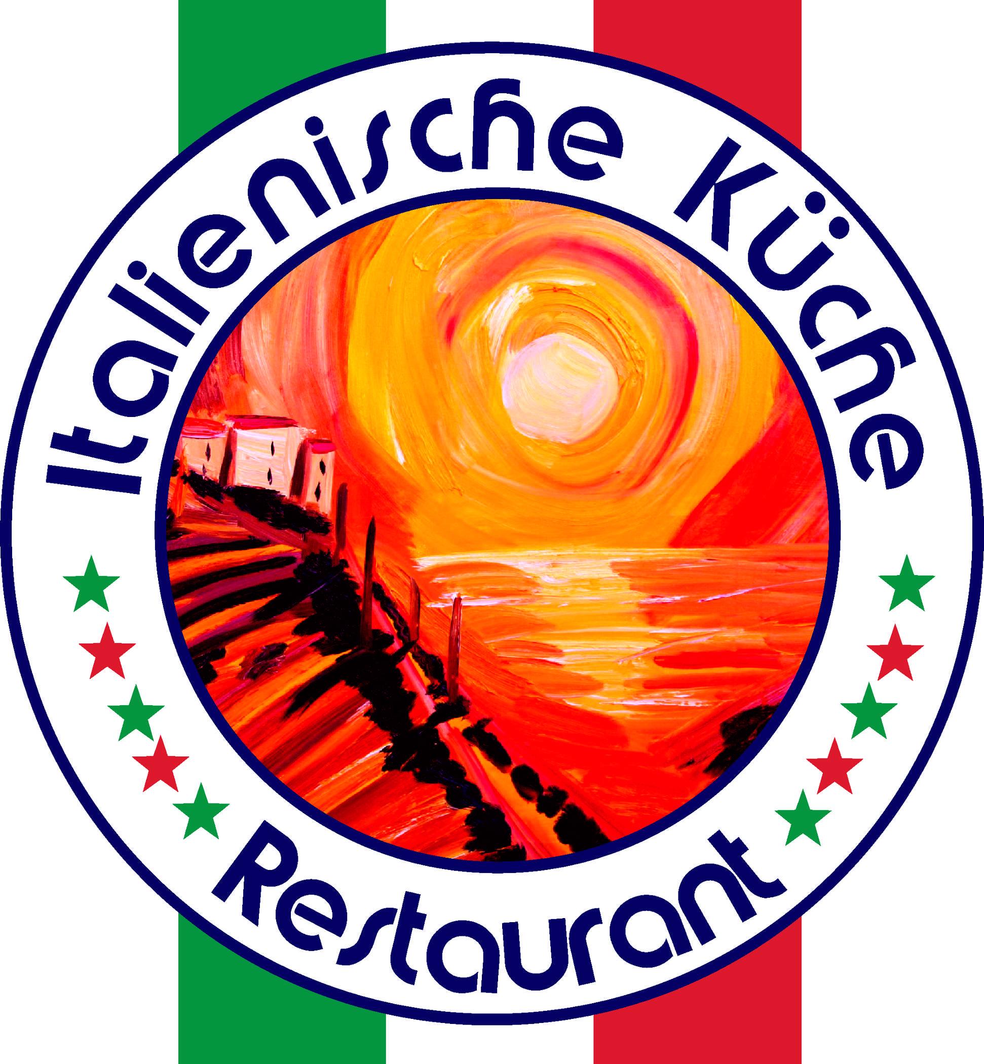 Logo italienische Küche Restaurant Toskana Tramonto Dipinto | Oil ...