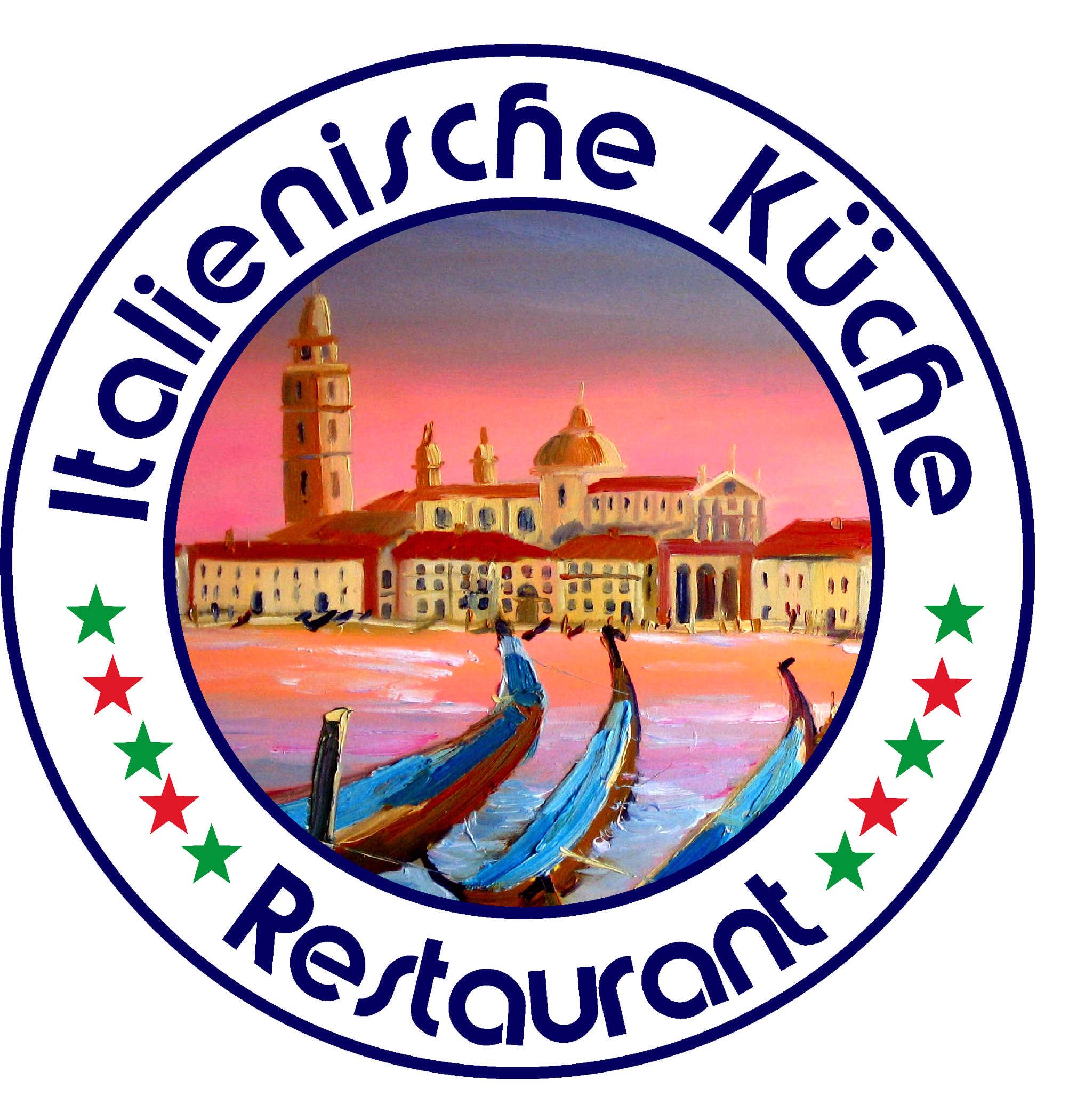 Logo italienische Küche Restaurant Venezia Painting Renoir pink ...