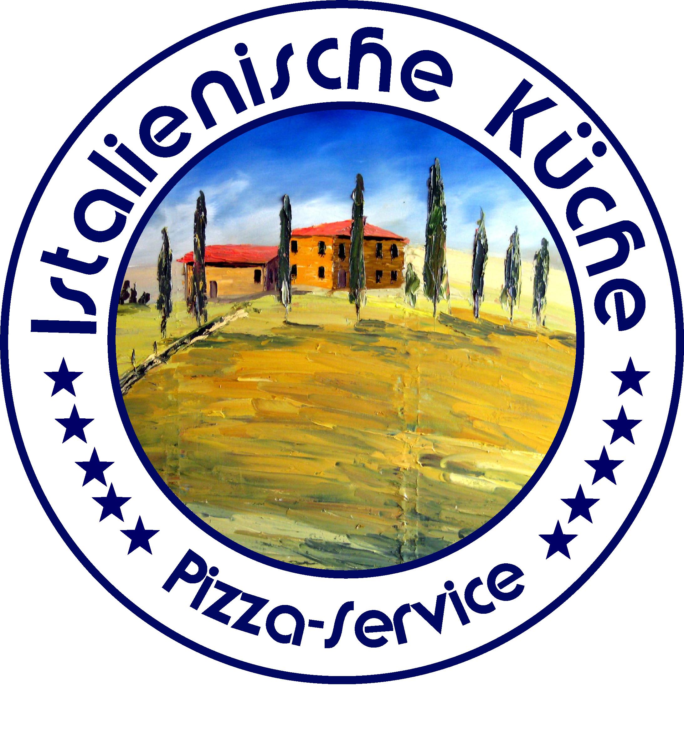 Logo italienische kueche pizza service toskana motiv sigillo ...